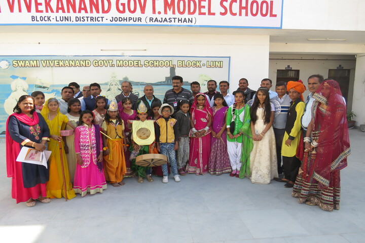 Swami Vivekanand Government Model School-Fancy Dress Competition