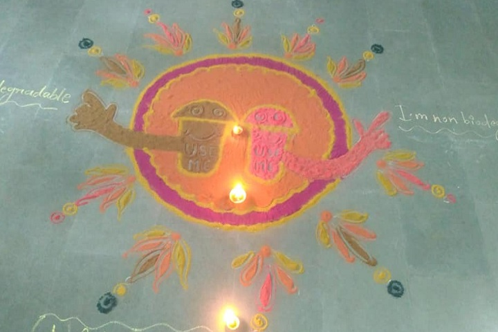 Manava Bharati Heritage School- Diwali Celebrations