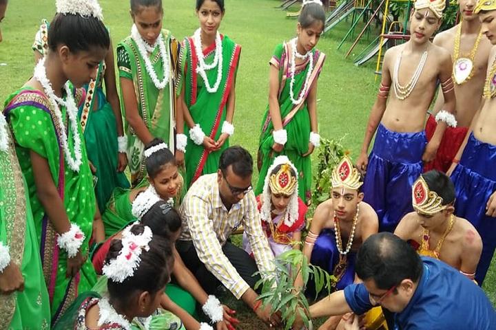 Manava Bharati Heritage School-Plantation Day