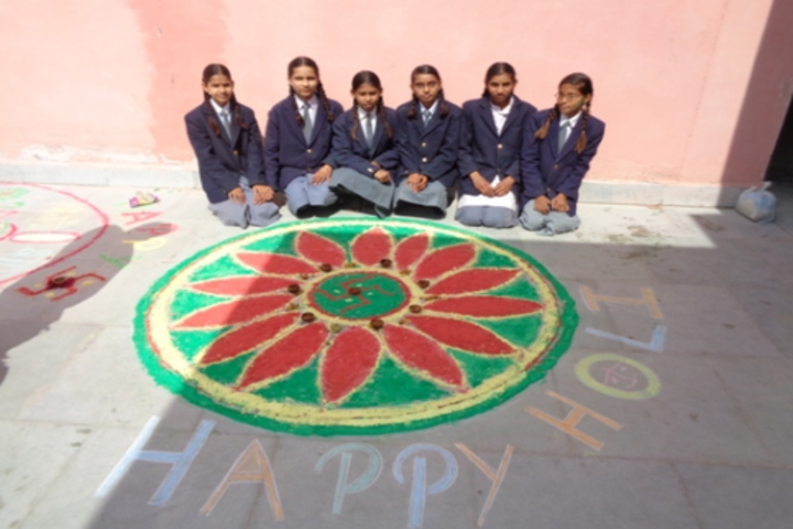 Swami Vivekanand Government Model School-Rangoli