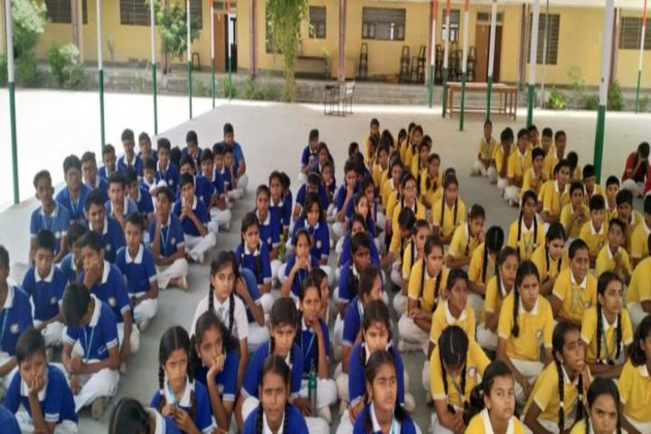 Swami Vivekanand Government Model School-Assembly Area