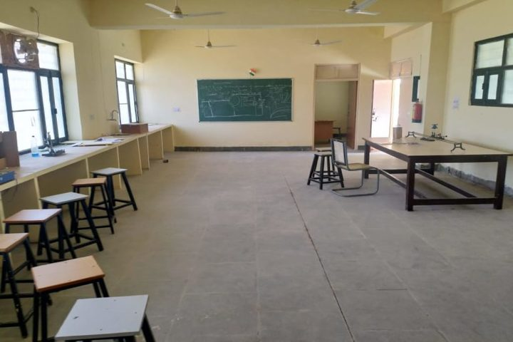Swami Vivekanand Government Model School-Physics lab