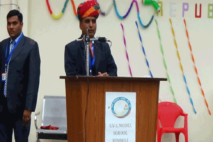 Swami Vivekanand Govt Model School-Republic Day Speech