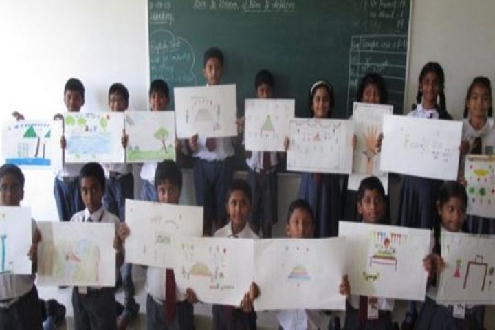 Bharatiya Vidya Bhavans Residential Public School-Painting