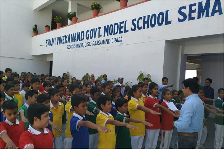 Swami Vivekanand Government Model School-Assembly