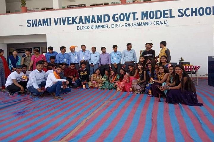 Swami Vivekanand Government Model School-Farewell