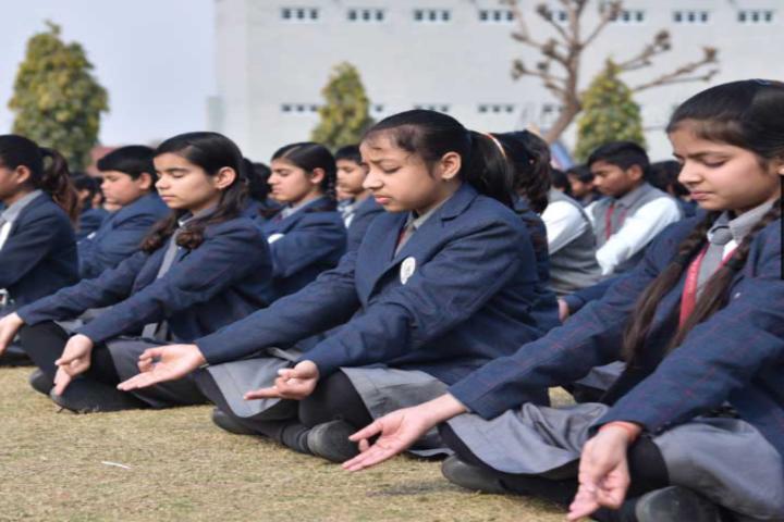 Tagore Public Senior Secondary School-Yoga