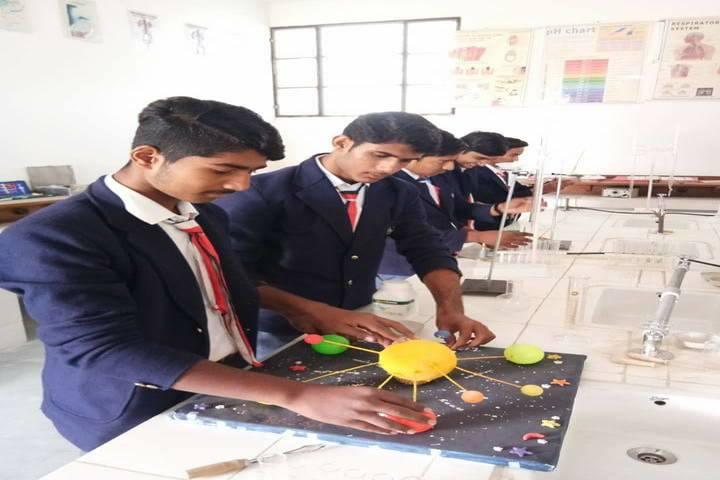 Taj Global Academy-Science lab