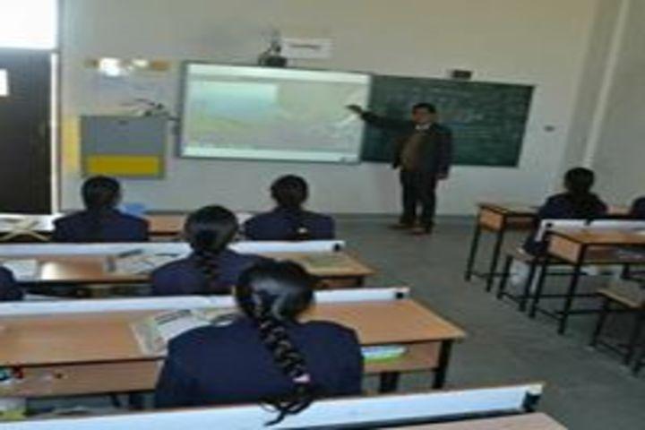 Taj Global Academy-Smart classroom