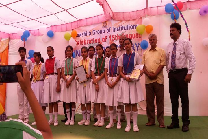 Takshila Public School-Prize Distribution
