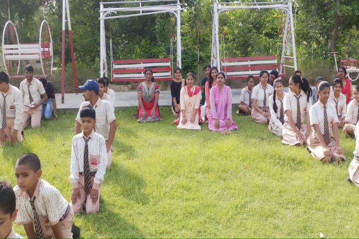 Takshila Public School - Yoga Day Activity