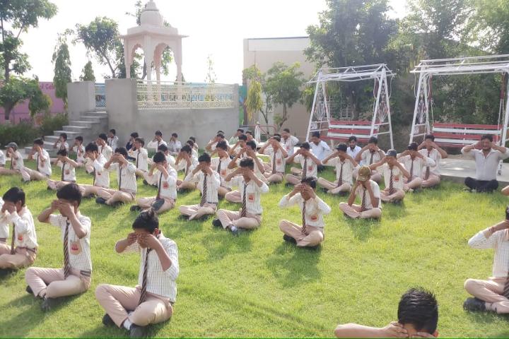 Takshila Public School-Yoga Day