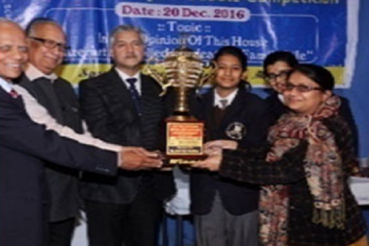 The Aditya Birla Public School-Debate Competition Winners