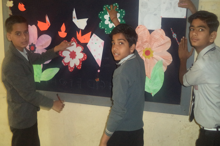The Asia Pacific Convent School-Art And Craft