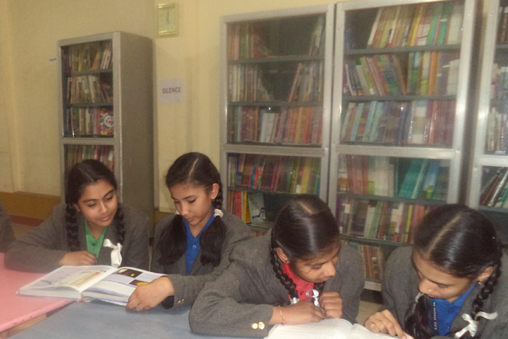 The Asia Pacific Convent School-Library