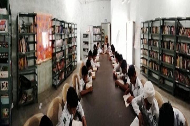 The Noble Scholar Academy-Library