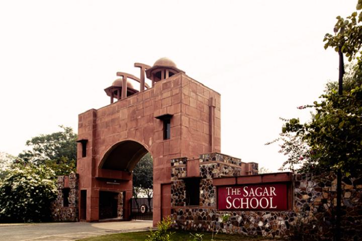 The Sagar School-Campus-Front View
