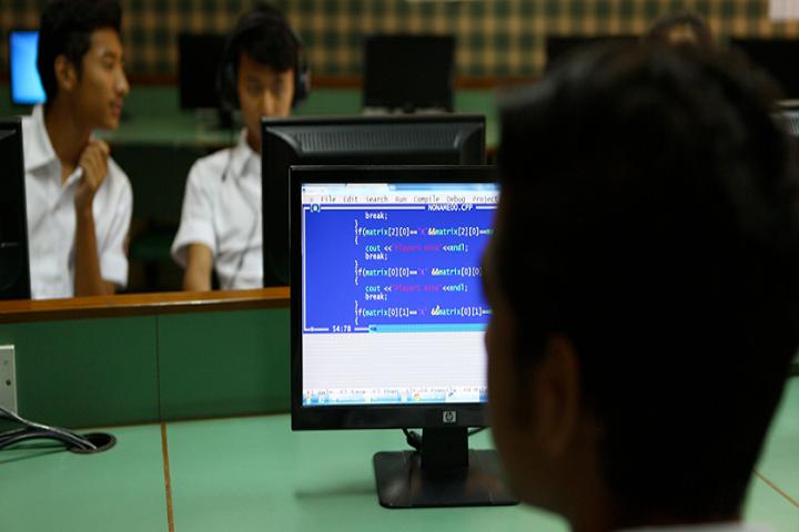 The Sagar School-Computer Lab
