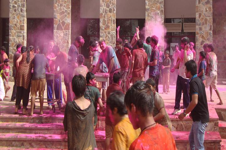 The Sagar School-Festival Celebration