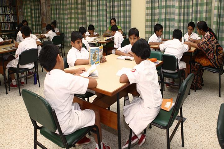 The Sagar School-Library