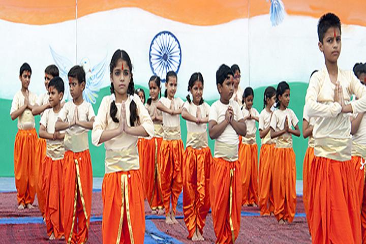The Shanti Niketan School-Dance