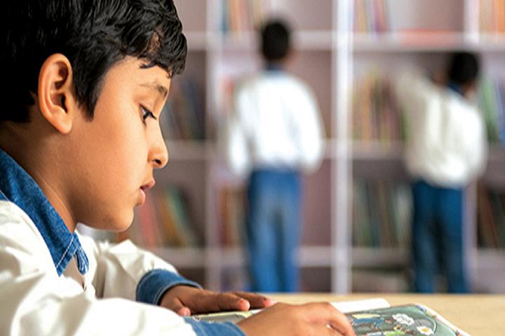 The Shanti Niketan School-Library