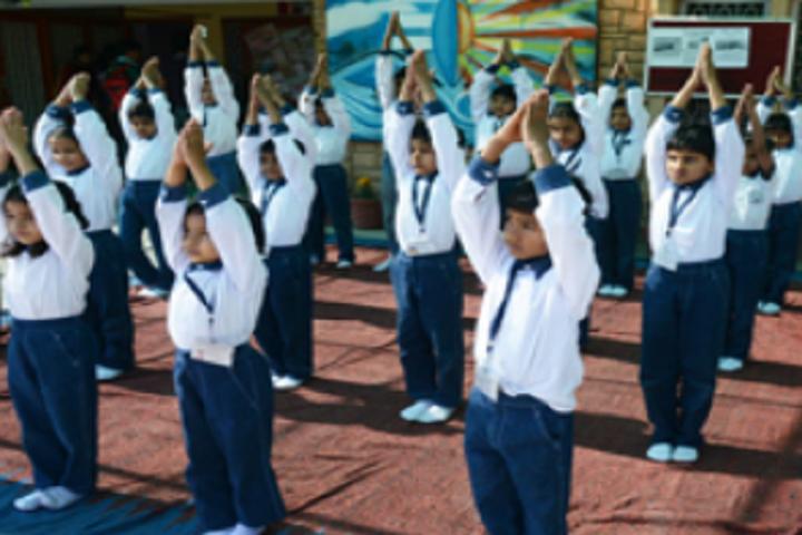 The Shanti Niketan School-Yoga