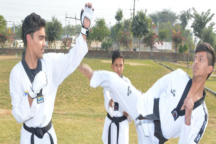 The Tagore School-Karate