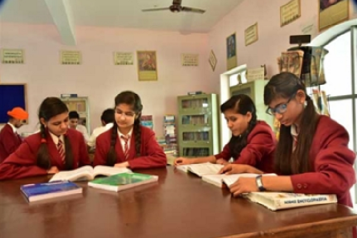 The Tagore School-Library