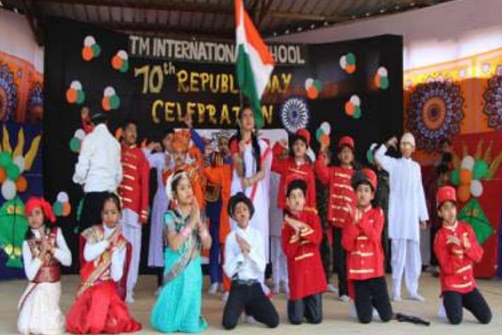 Tm International School-Republic Day Celebration
