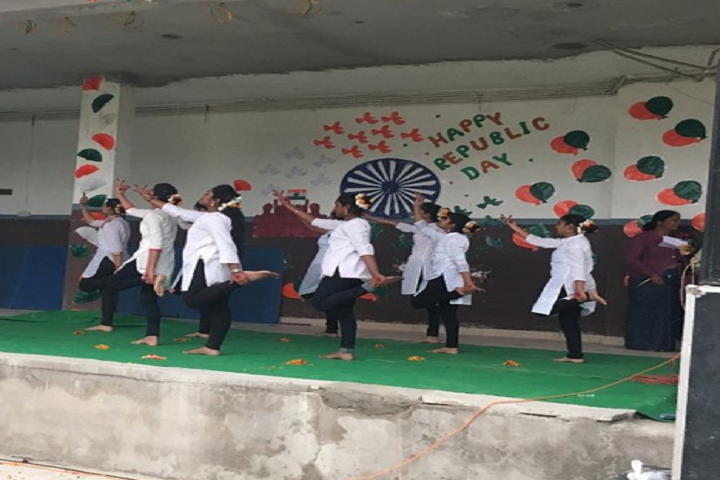 Vidhya Sagar Senior Secondary School-Republic Day Celebration