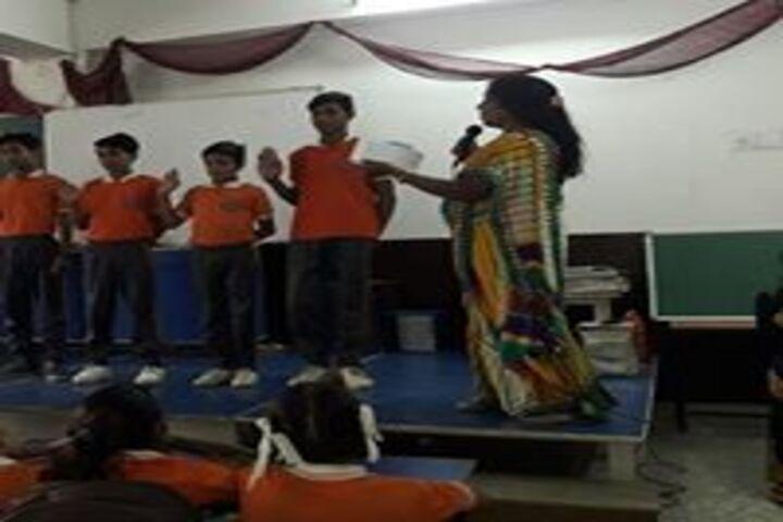 Vidya Global School-Quiz competition