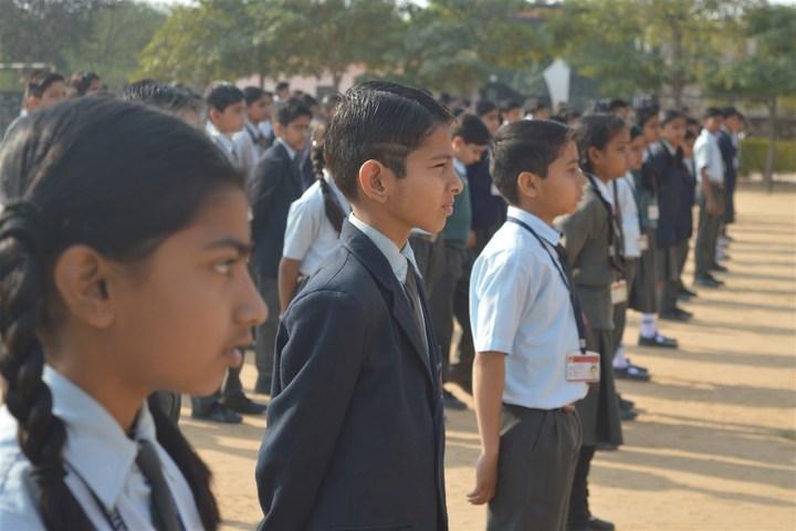 Vidya Gram International School-Assembly