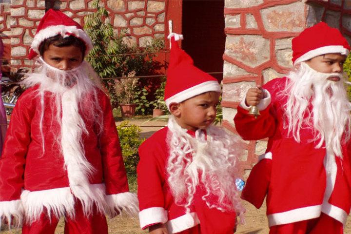 Vidya Gram International School-Christmas Celebrations