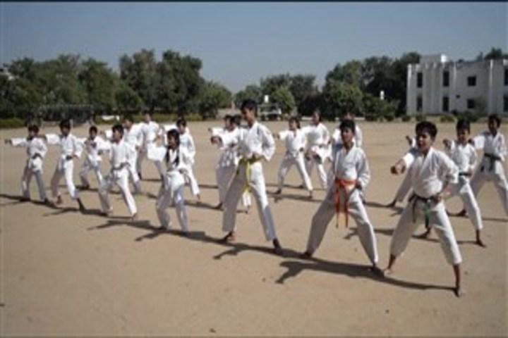 Vidya Gram International School-Karate