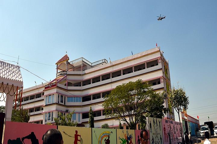 Modern English School- School Building