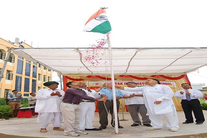 Vinayak International School-Flag Hosting