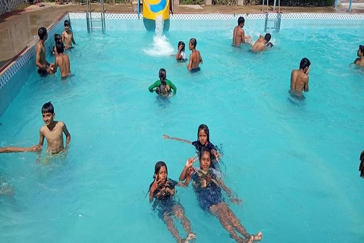 Vivek Techno School-Swimming