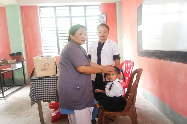 Government Secondary School-Medical Check Up