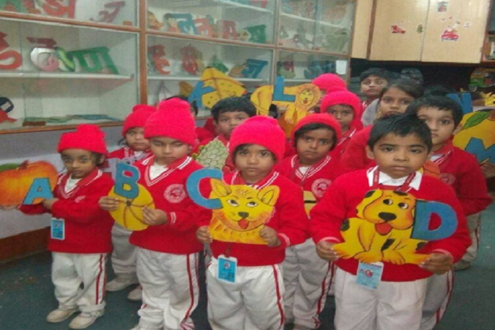 Mother Teresa Tiny Tots English School- Kids Group Pic