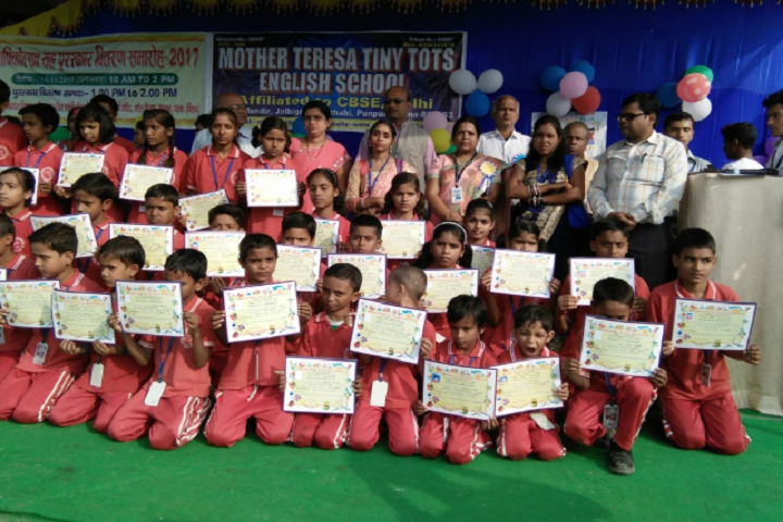 Mother Teresa Tiny Tots English School-Certificates Distribution