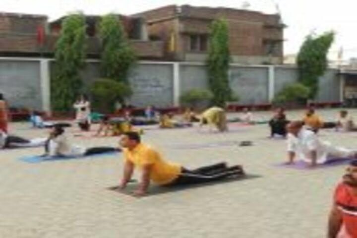 Mothers International Academy- Yoga Day Celebrations