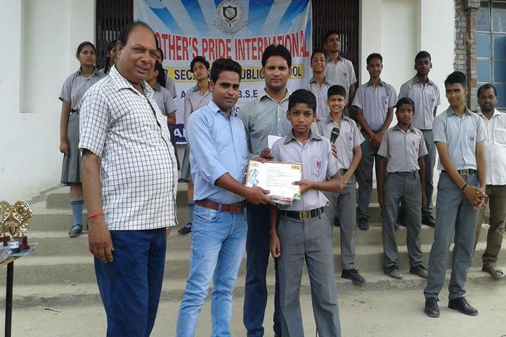 Mothers Pride International Senior Secondary School-Certificates Distribution