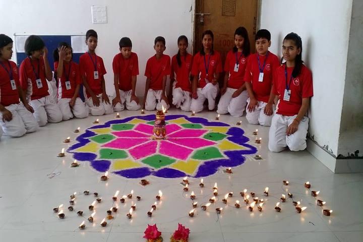 Mount Litera Zee High School- Diwali  Celebrations