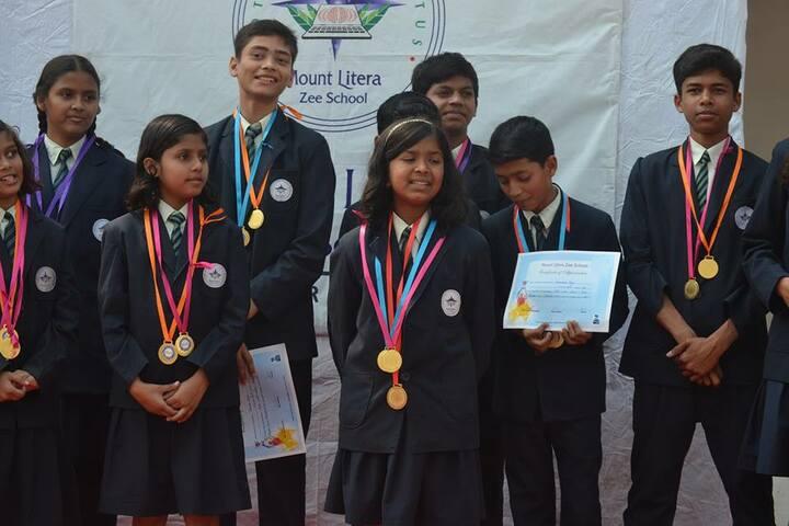 Mount Litera Zee School- Medal Distribution