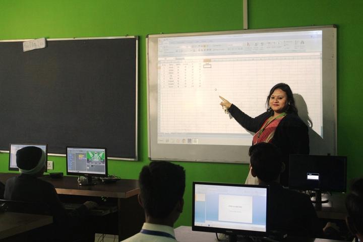 Mount Litera Zee School- Smart Classroom