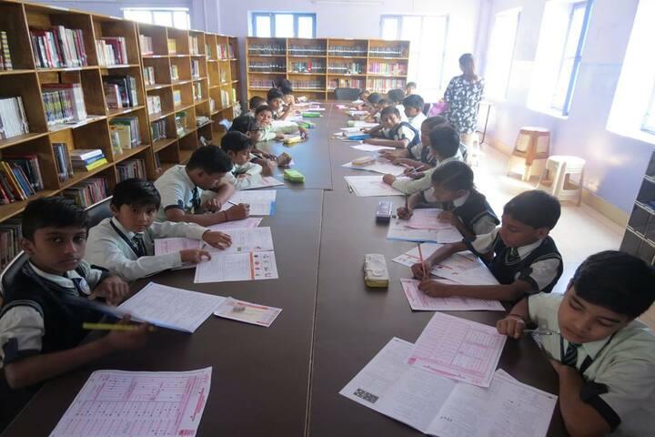 Mount Litera Zee School- Library