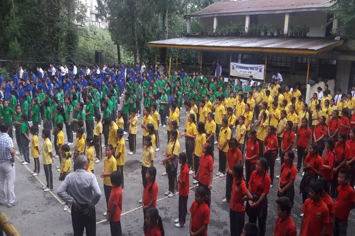 Government Senior Secondary School-Assembly