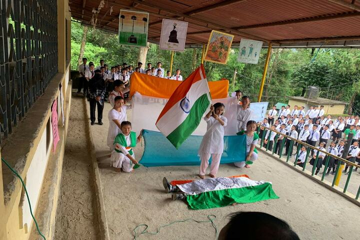 Government Senior Secondary School-Independence Day Celevrations