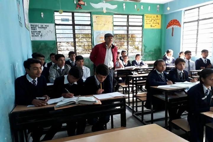 Government Senior Secondary School-Class Room